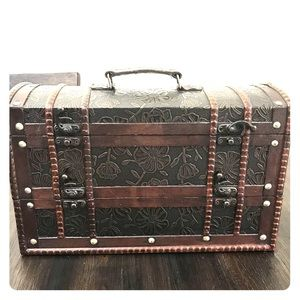 Other - Beautiful antique wine holder chest